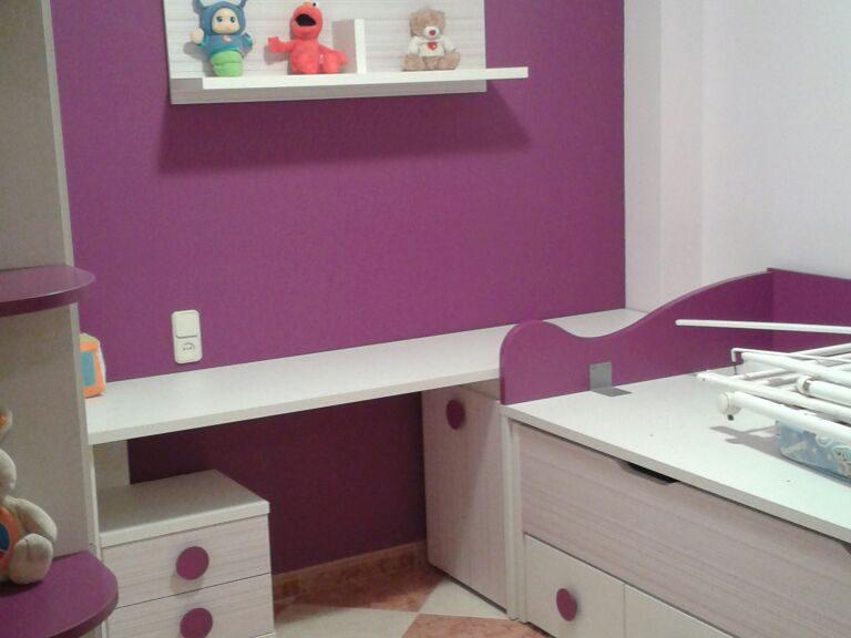 Proyecto CAA desarrollado por CASANOVA en Fortaleny (Valencia): dormitorio juvenil (1).