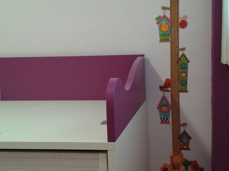 Proyecto CAA desarrollado por CASANOVA en Fortaleny (Valencia): compacto del dormitorio juvenil (2).