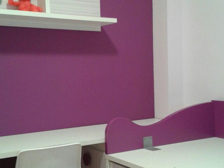 Proyecto CAA desarrollado por CASANOVA en Fortaleny (Valencia): zona de estudio del dormitorio juvenil (3).