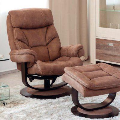 Sillón relax con pouff (59 - TSR10), disponible en CASANOVA.