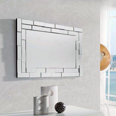 Espejo rectangular enmarcado (294 - DE1), disponible en CASANOVA.