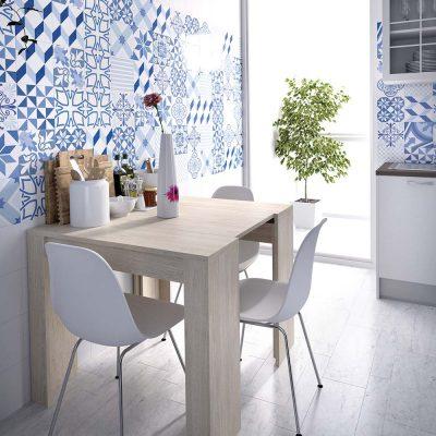 Mesa multiusos convertible en mesa de cocina (237 - MCM36), disponible en CASANOVA.