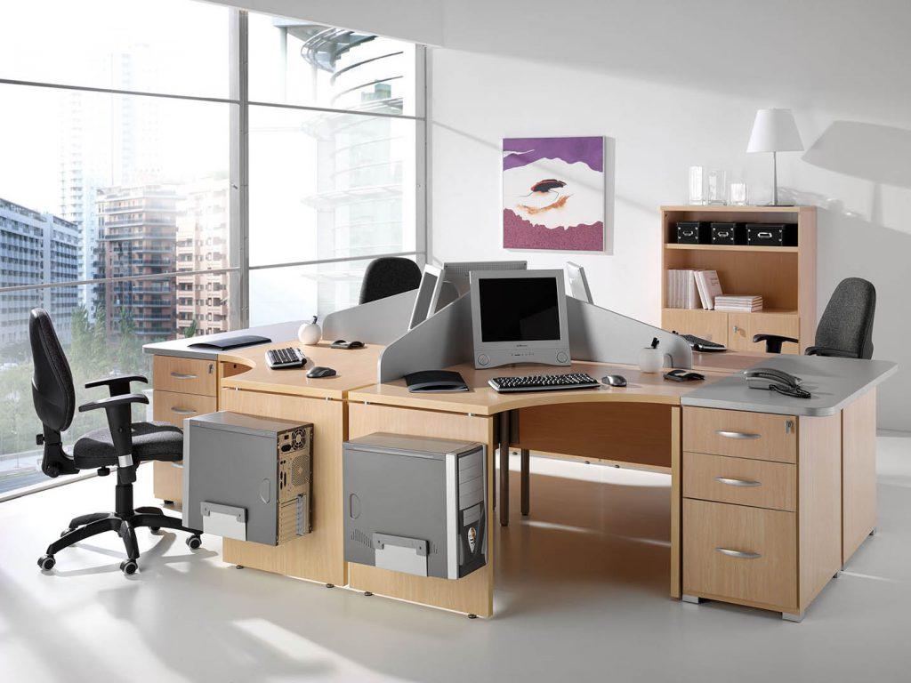 Mobiliario despacho conjunto despacho completo with for Conjunto muebles oficina