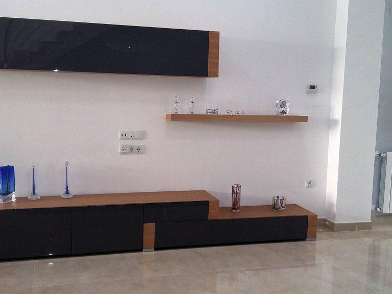 Proyecto 27334 desarrollado por CASANOVA en Sueca (Valencia): composición de salón.