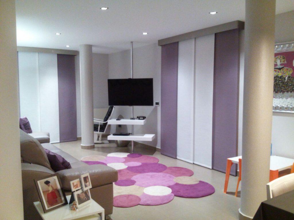 Proyecto 16252 desarrollado por CASANOVA en Segorbe (Castellón): tapicería, panel japonés y salón comedor (1).