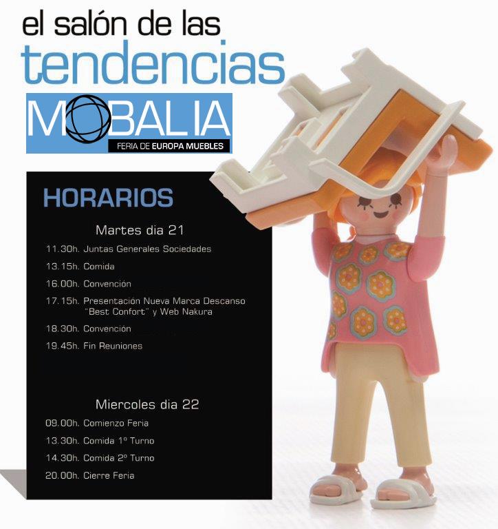 MOBALIA 2016. 35ª Feria de Europa Muebles.
