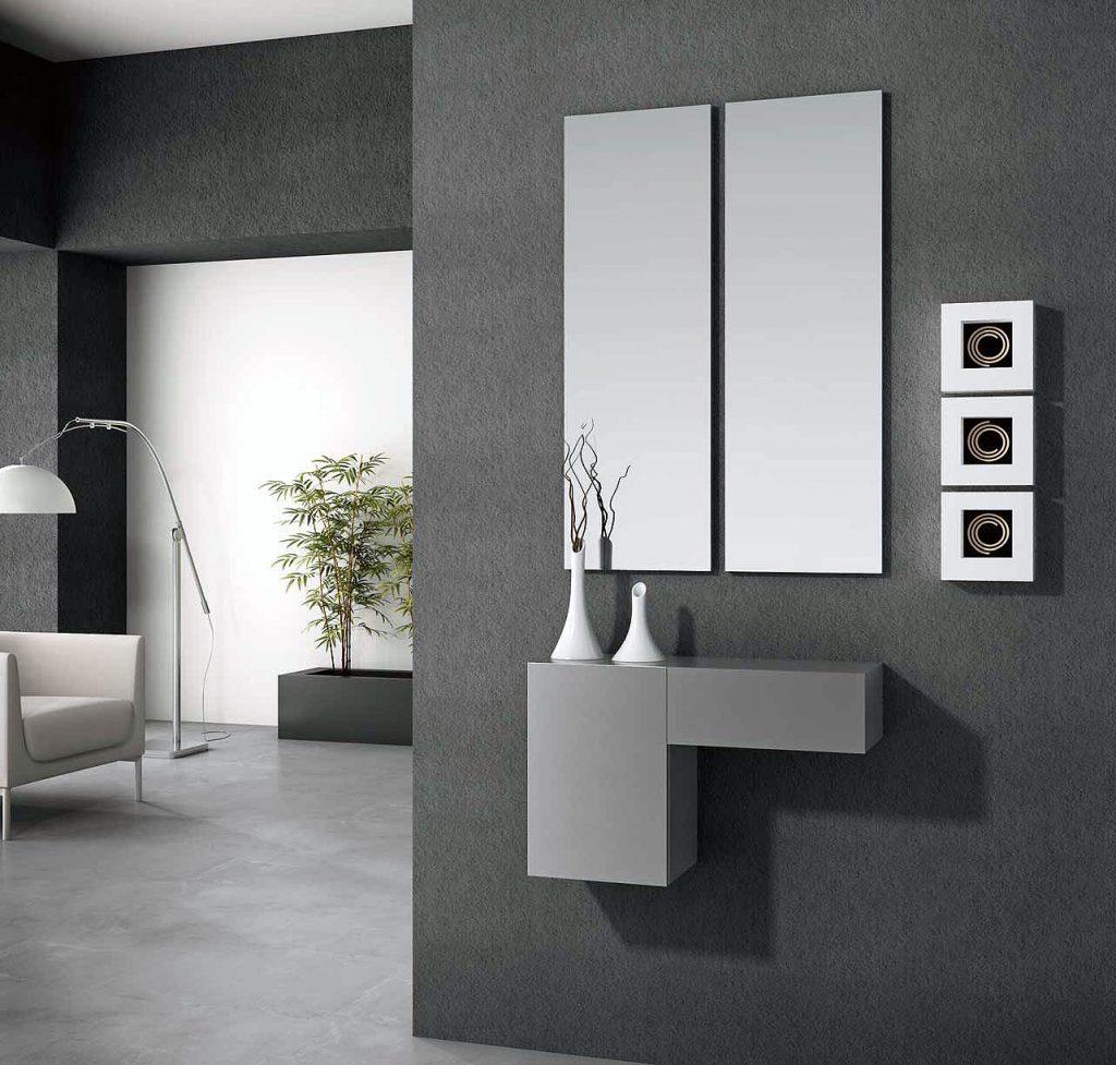 Espejo recibidor moderno ideas de disenos for Espejos originales recibidor