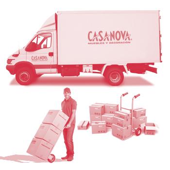 Transporte gratuito en los servicios de CASANOVA.