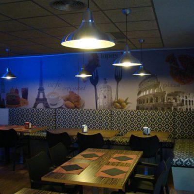 Proyecto desarrollado por CASANOVA en Sueca (Valencia): sillas y mobiliario de hostelería (2).