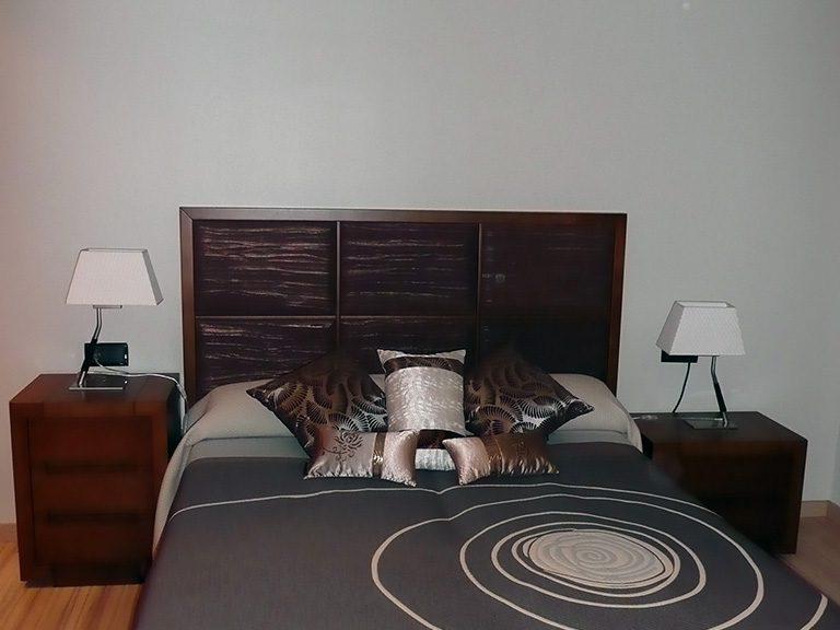 Proyecto 22140 desarrollado por CASANOVA en Sueca (Valencia): dormitorio, iluminación y decoración (2).