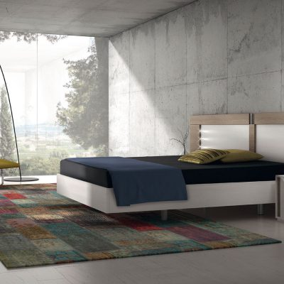 Dormitorio moderno (1407 - D2), disponible en CASANOVA.