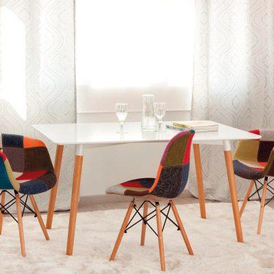 Mesa de comedor con sillas (59 - SMS2), disponible en CASANOVA.