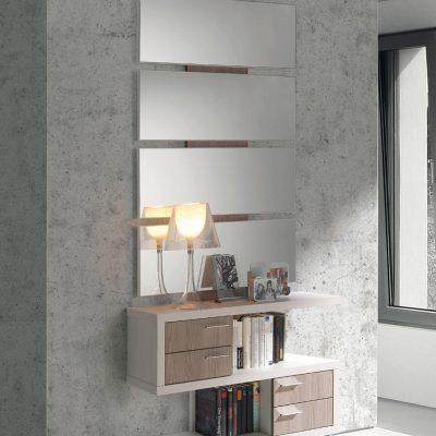 Recibidor compuesto por espejos y consola (1407 - AR2), disponible en CASANOVA.
