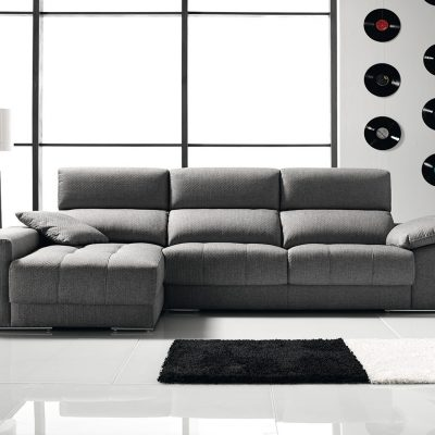 Sofá con chaiselongue (1591 - TS1), disponible en CASANOVA.