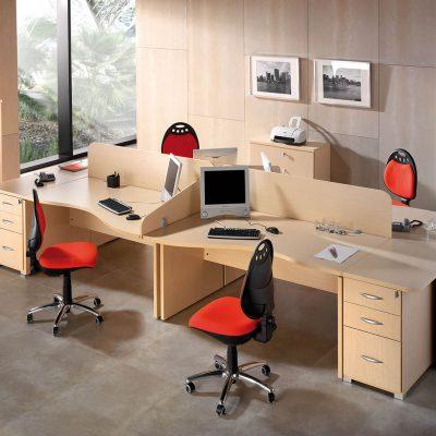Mobiliario de oficina (1694 - O18), disponible en CASANOVA.
