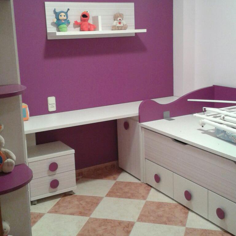 Dormitorio juvenil en Fortaleny (Valencia)