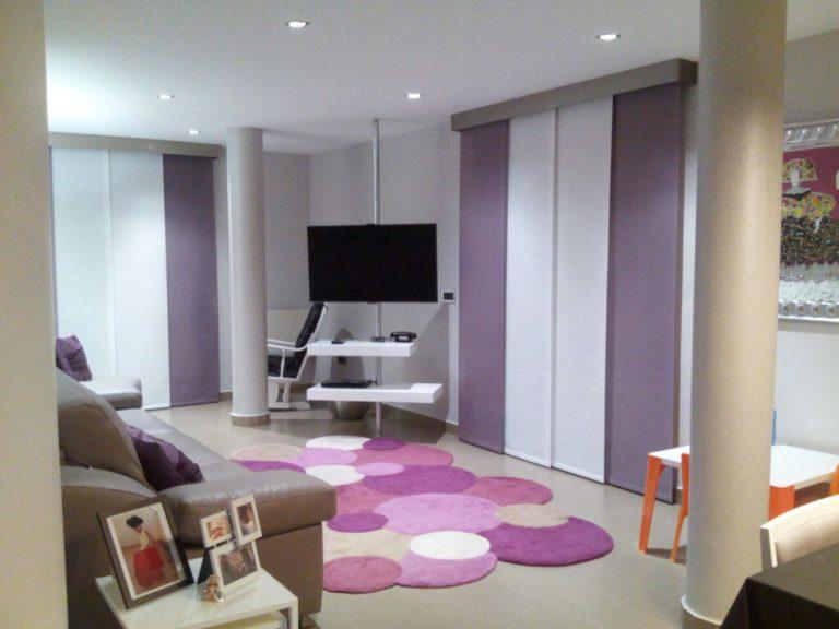 Proyecto 16252, desarrollado por CASANOVA en Segorbe (Castellón): tapicería, panel japonés y salón comedor (1).