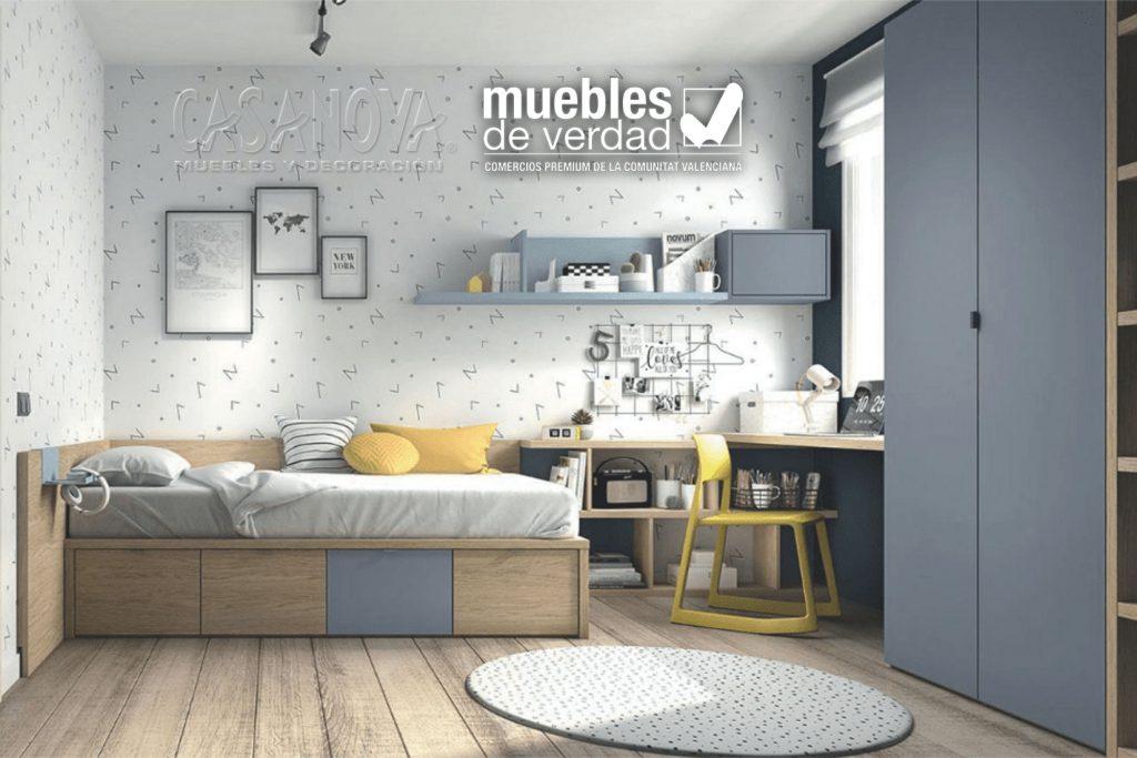 Tendencias en habitaciones juveniles