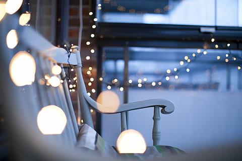 La iluminación te permitirá disfrutar del exterior por la noche.