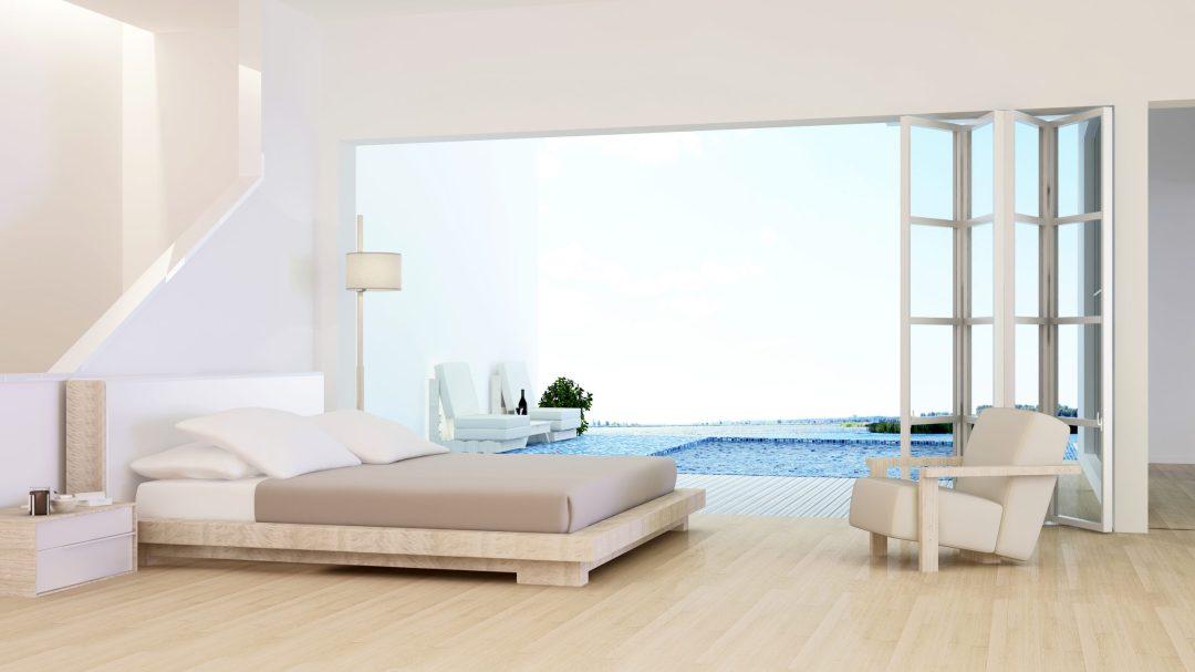 Los muebles claros te ayudarán a aprovechar la luminosidad del exterior.