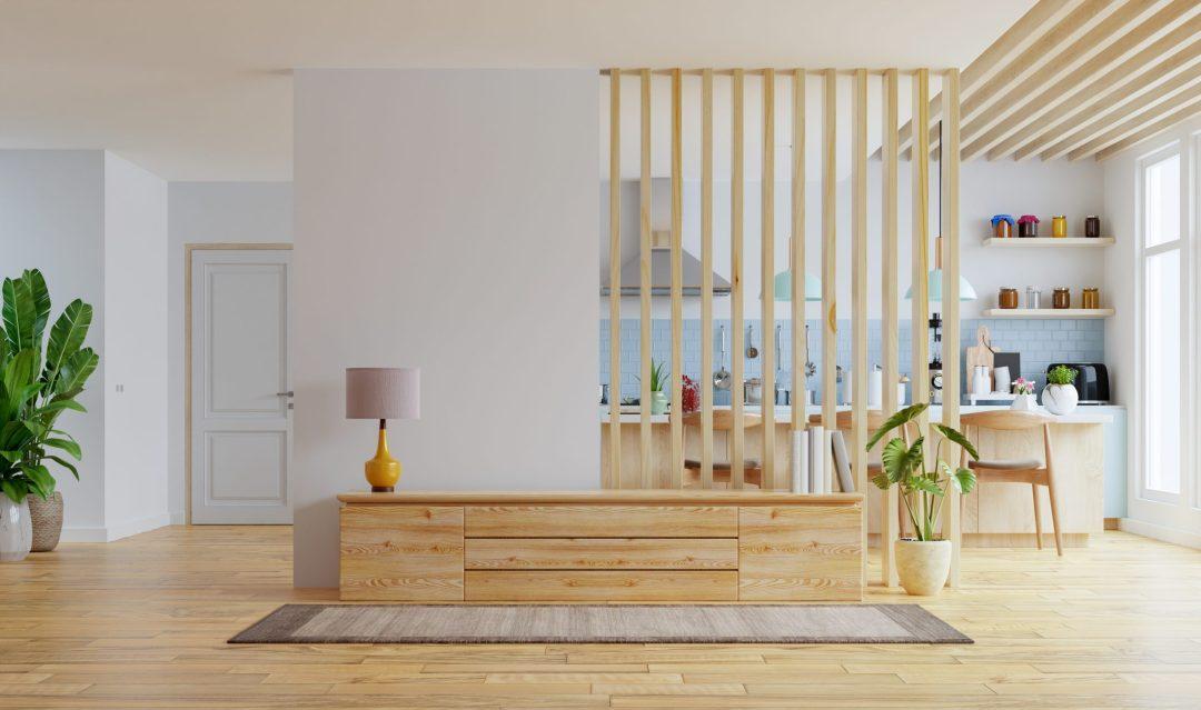 La decoración con espacios polivalentes te ayudará a sacar el máximo partido al apartamento.