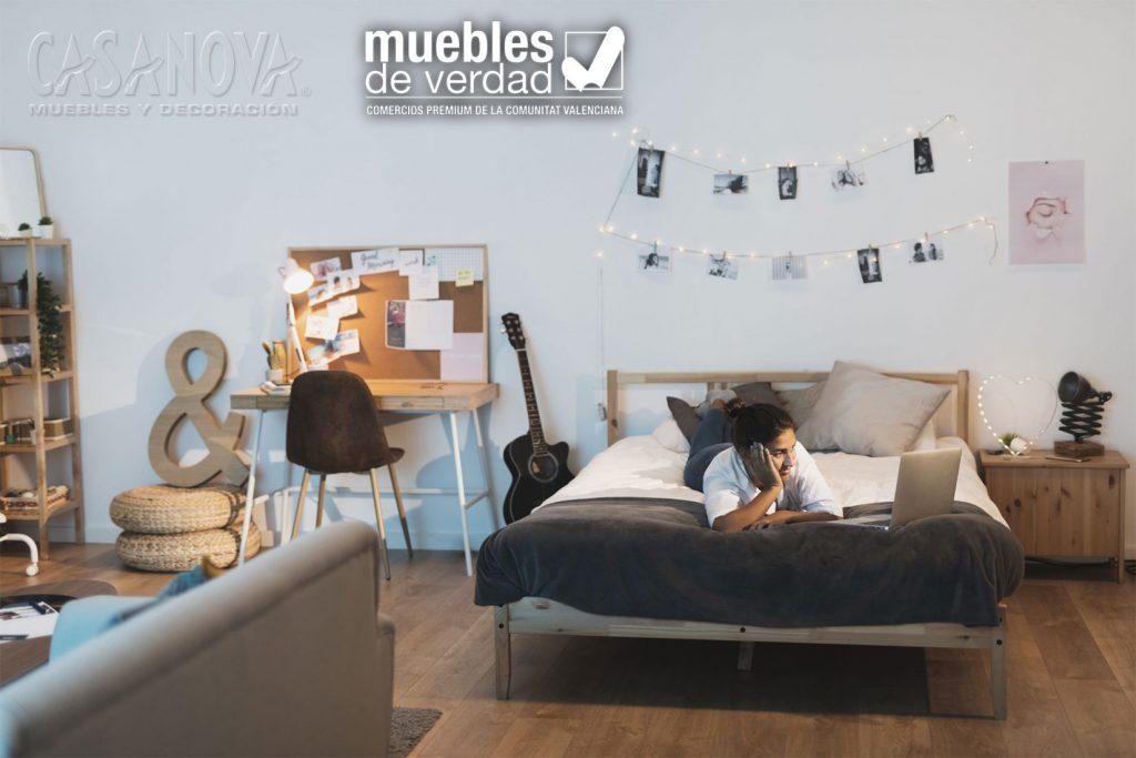 Dormitorios para empezar el curso.